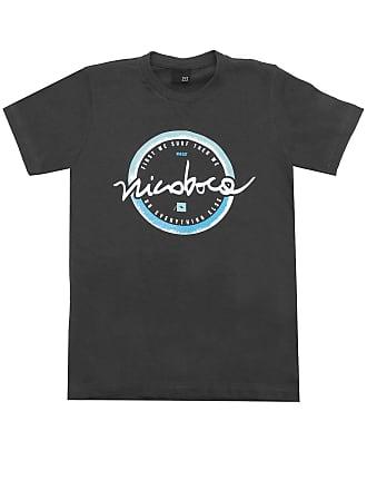 NICOBOCO Camiseta Nicoboco Menino Liso Preta