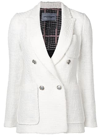 Forte Couture double-breasted blazer - Branco