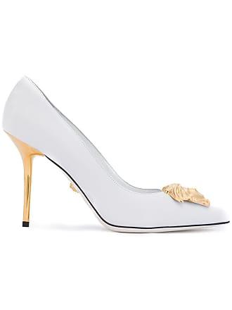 8d63ce175c6 Versace Medusa Palazzo pumps - White