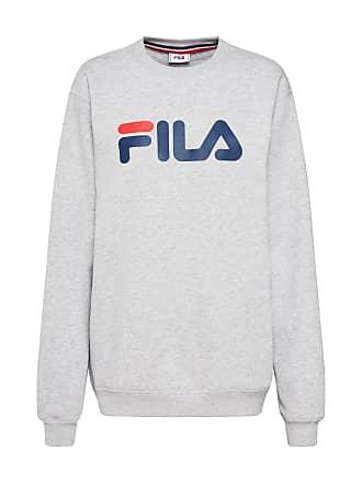 6d2fdf35719 Fila Sweatshirt PURE Crew Sweat grijs gemêleerd / rood / wit