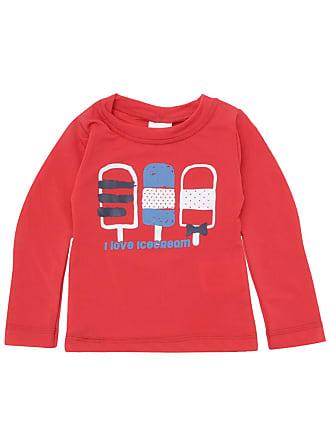 Tip Top Camiseta Tip Top Menino Estampa Frontal Vermelha