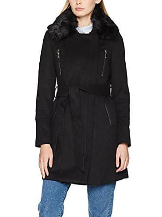 7b5e91a887a Morgan 172-GMACK.N Manteau Femme Noir (Noir) 36 (Taille Fabricant
