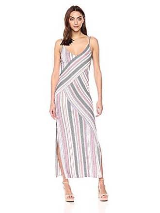 59e11495ea7 Bcbgmaxazria BCBGMax Azria Womens Dayln Stripe Jacquard Maxi Dress