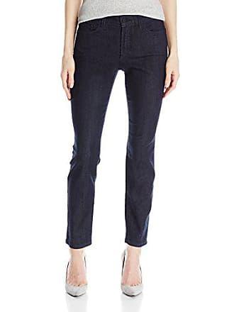 NYDJ Womens Clarissa Skinny Ankle Jeans Dark Enzyme, Dark Enzyme, 14