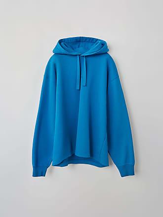 Acne Studios FN-MN-SWEA000036 Electric blue Hooded sweatshirt