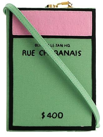 Olympia Le-Tan Bolsa clutch Rue Chabanais - Verde