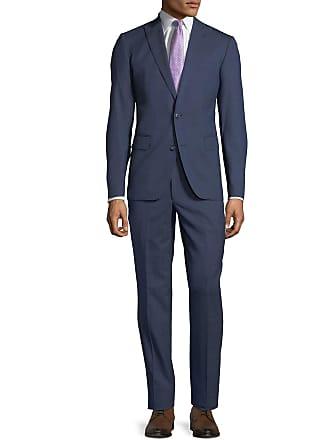 Neiman Marcus Mens Tick-Weave Two-Piece Suit