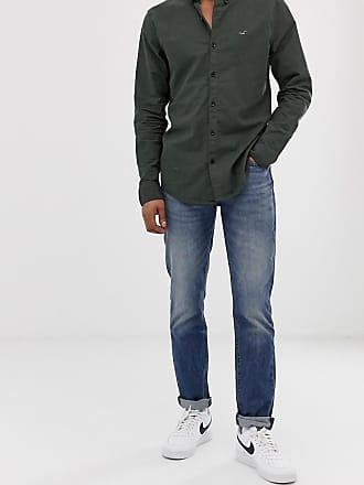 Levi's 511 - Slim-fit jeans met lage taille en mid wash-Blauw