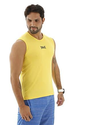 Everlast Camiseta Machão Dry Everlast-GG-Amarelo