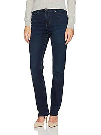 Lee Womens Fit Rebound Slim Straight Jean, Mysterious, 16 Long