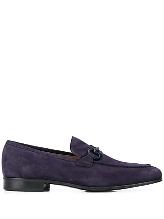 Salvatore Ferragamo Gancini loafers - Blue