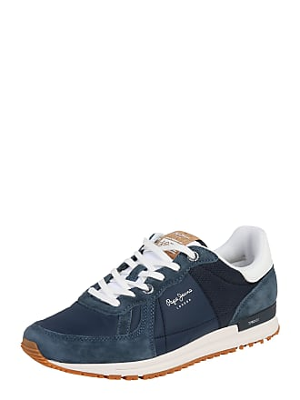 c9b1377d6735a5 Pepe Jeans London Sneaker Tinker Pro Premium navy   weiß