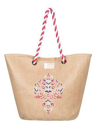181de0c83f8dd Roxy Sunseeker - Stroh-Strandtasche für Frauen - Gelb - Roxy