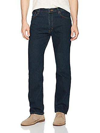 Wrangler Authentics Mens Regular Fit Jean with Flex Denim, Midnight, 30x32