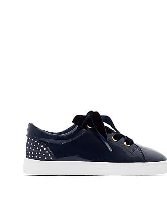 a58e6c87dab8 La Redoute Collections Sneakers mit Samt-Schnürsenkeln, Gr. 26-39 - blau