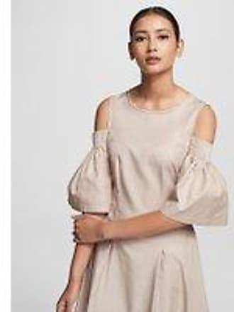Karl Lagerfeld COLD SHOULDER FLARE DRESS