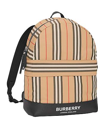 3b5865f5c66dc8 Burberry Kids Nico Archive Stripe Canvas Backpack