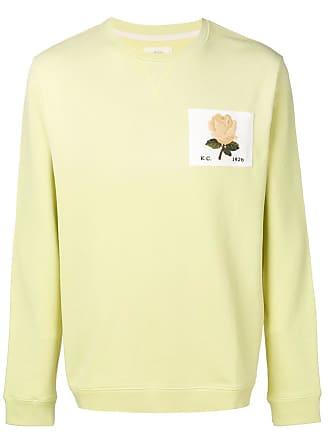 Kent & Curwen rose patch sweatshirt - Green