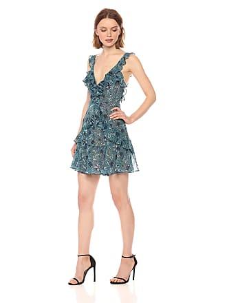 ffde79b1b5 For Love   Lemons Womens Poppy Mini Dress Poppy Mini Dress Patterned  Sleeveless Cocktail Dress -