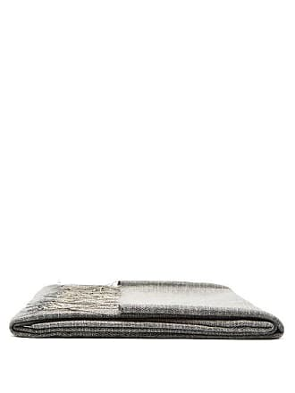 From The Road Turi Wool-blend Blanket - Grey