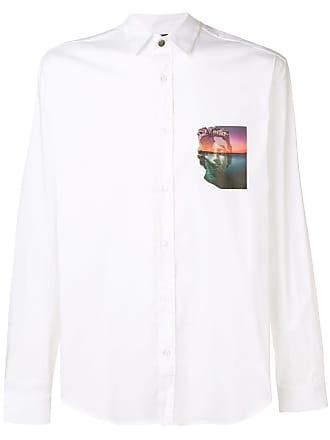 Just Cavalli Camisa com estampa gráfica - Branco