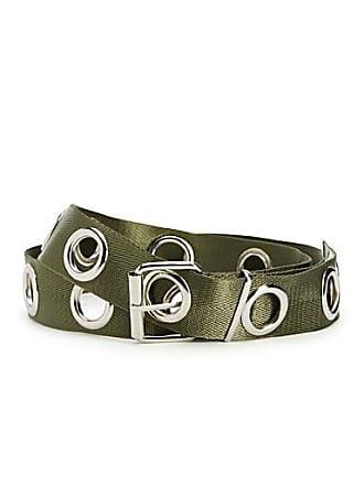 Simons Long eyelet strap belt