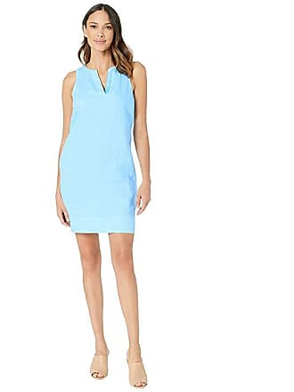 691eff3d84 Tommy Bahama Seaglass Linen Shift Dress (Scandia Blue) Womens Dress