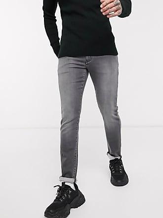 A|X Armani Exchange J14 - Schmal geschnittene Jeans in verwaschenem Grau
