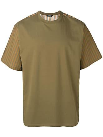Qasimi Block stripe T-shirt - Green