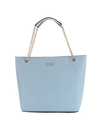 6645bc1f20 Guess WOMENS HWEV7180230SKY LIGHT BLUE LEATHER TOTE