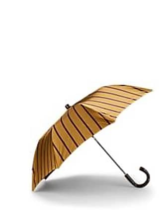 Barneys New York Mens Striped Folding Umbrella
