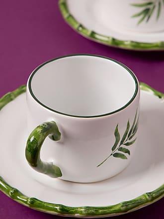 Tania Bulhões Xícara de Chá Bambu Branca - Lifestyle - Branco - Único BR