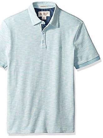 461ec3690 Original Penguin Mens Short Sleeve Slub Plaited Polo