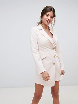 Millie Mackintosh asymmetric tux dress - Pink