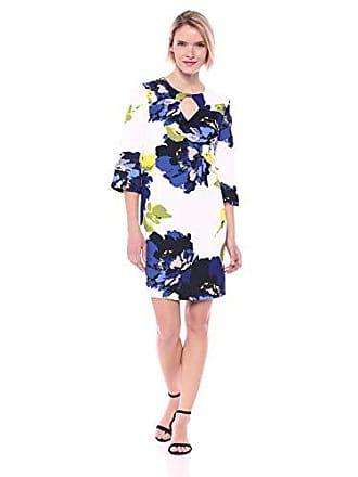 513a302d36b8 Trina Turk Trina Trina Turk Womens Ardor Keyhole Embellished Shift Dress,  Kyoto Garden Sleek Woven