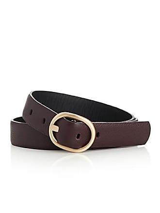Simons Gold oval buckle belt