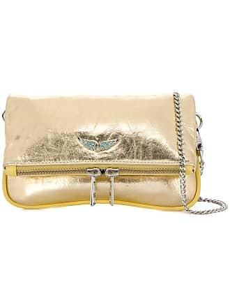 Zadig & Voltaire rock nano mini bag - Gold