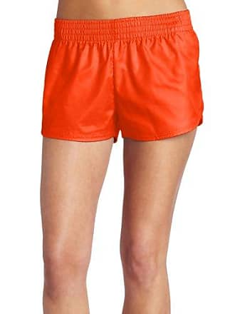 Soffe Womens Lowrise Slick, Orange, Large