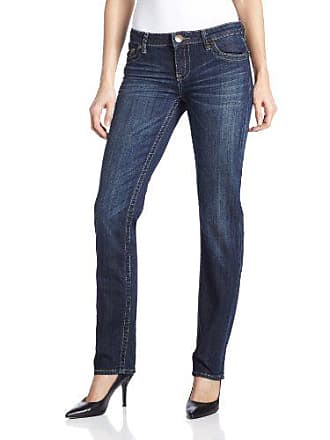 Kut from the Kloth Womens Stevie Straight Leg Jean, Wise, 4