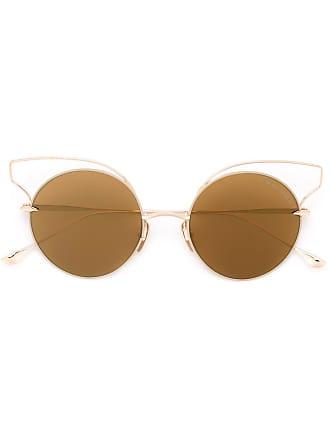 Dita Eyewear Óculos de sol redondo - Metálico