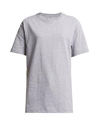 Hanes x Karla Hanes X Karla - The Original Cotton Jersey T Shirt - Womens - Grey
