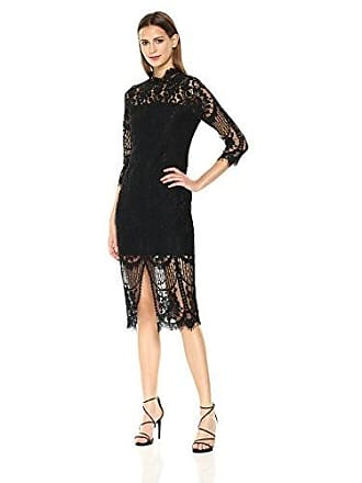 Yumi Kim Womens Leading Lady Dress, Black, XS