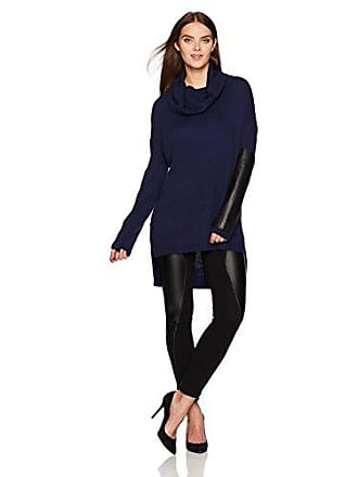 Bcbgmaxazria Womens Deedee Knit Tunic Pullover, Dark Navy M