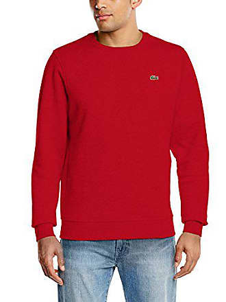 174b8bab79 Lacoste Sport SH7613 Sweat-Shirt, (Rouge), Small (Taille Fabricant: