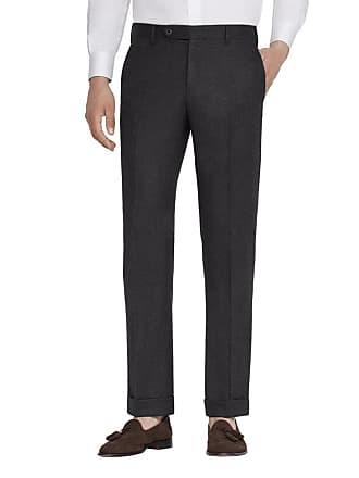 Zanella Mens Parker Stretch-Flannel Trouser Pants