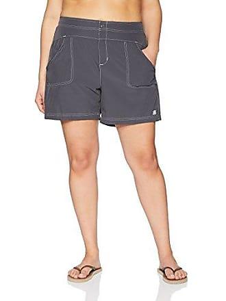 ZeroXposur Womens Sporty Stretch Woven Hybrid Short Bottom, Slate, 8