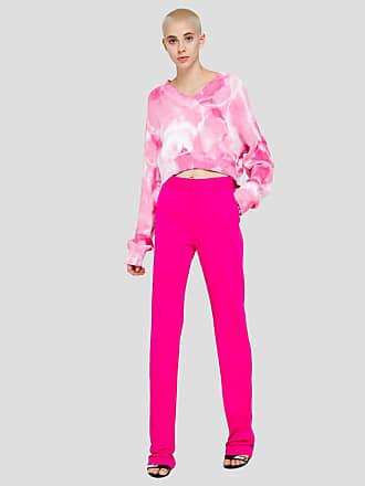 Msgm tie dye crop sweater