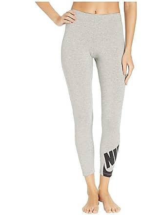 c1090508675eb Nike Sportswear Legasee Leggings 7/8 Futura (Dark Grey Heather/Black) Womens