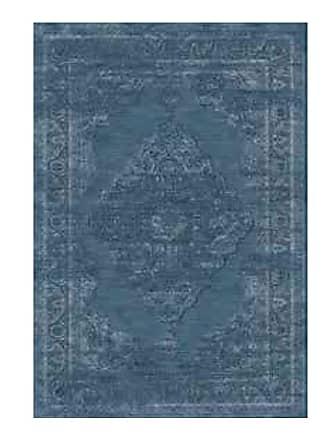 Abdalla Tapete Belga Tiffany 492 Azul - Lifestyle - 1,00X1,40m