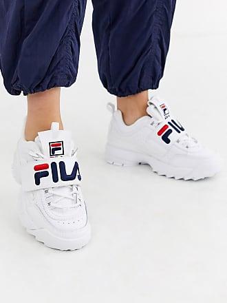 Fila disruptor - Sneakers con chiusura a strappo-Bianco